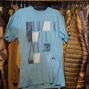 Quicksilver Shirts - Mens size L Quicksilver tee shirt